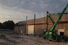Raleigh-Mall-removing-top-of-columns